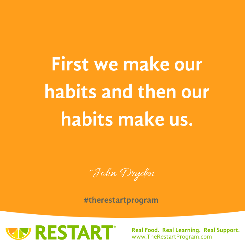 First we make our habits and then our habits make us. John Dryden Quote