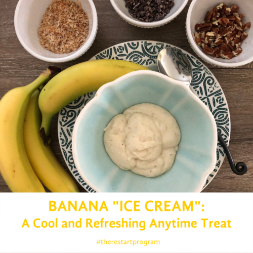 RESTART® Friendly Banana Ice Cream