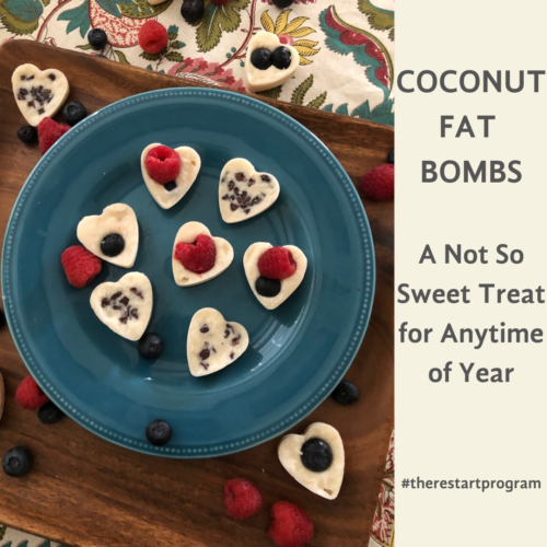 Looking for a not so sweet treat for you or a loved one for Valentine's Day?  A quick and simple fat bomb is a fun way to surprise someone (or yourself) with a nice gift on that special day or any time of the year.