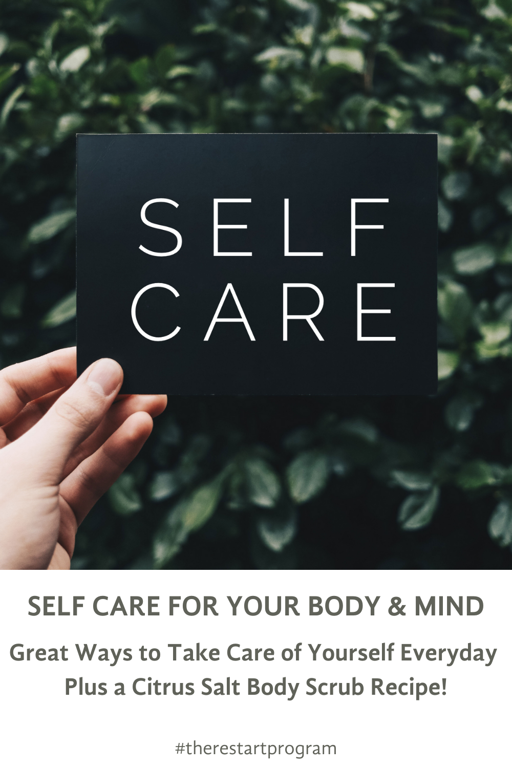 SELF CARE FOR YOUR BODY AND MIND Great Ways to Take Care of Yourself Everyday