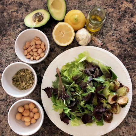 CREATE-A-SALAD Creative ways to build a simple & easy meal.