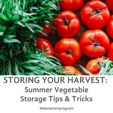 STORING YOUR HARVEST_ Summer Vegetable Storage Tips & Tricks