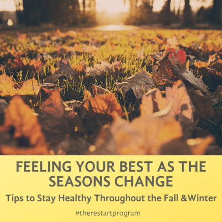 Simple Steps to Keep Healthy during the Fall and Winter